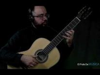 Curso de Guitarra nivel medio (repertorio) - Cuarta Posición Escala. Libro II, M Carcassi Op 59