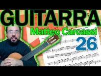 Más de 1 Millón de partitura gratis pare descargar e introducción al Op 59 de Matteo Carcassi.