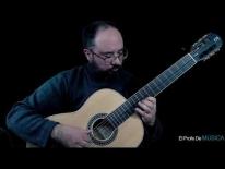 Curso de Guitarra nivel medio (repertorio) - Novena Posición Escala. Libro II, M Carcassi Op 59