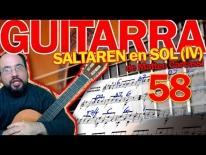 Análisis armónico del SALTAREN en SOL, Op59 de Carcassi. Lección 58 (parte IV))