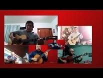 Guitarra fácil clases online - NIVEL BASICO – Ensamble canción navideña Noche De Paz.