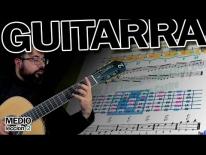 Guitarra fácil clases online - NIVEL MEDIO. CUARTA POSICIÓN EN LA GUITARRA. Ejercicio - Lección 2.