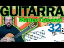 Análisis armónico del Andantino Op 59 de Matteo Carcassi
