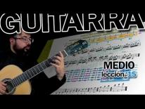 [VIDEO TUTORIAL] Guitarra fácil, clases onlineII – PRELUDIO EN LA - NOVENA POSICIÓN. Matteo. Carcassi - Lección 15.